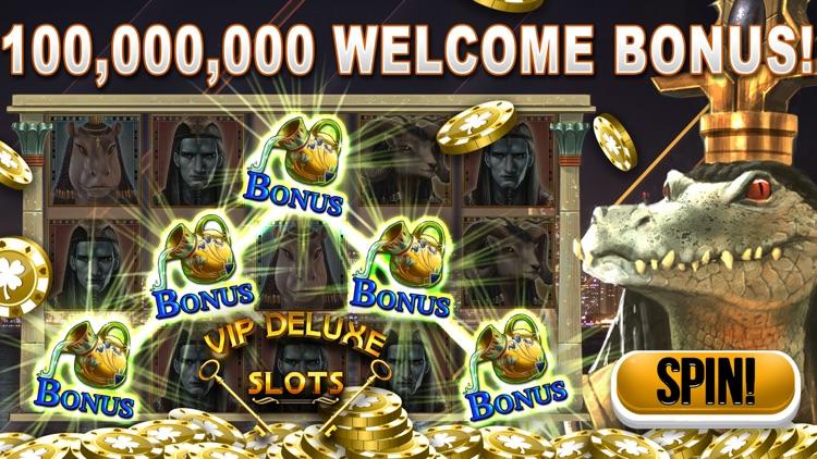 VIP Deluxe Slot Machine Games screenshot-0