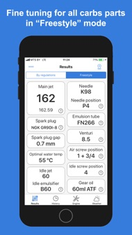 Jetting Rotax Max Kart iphone images