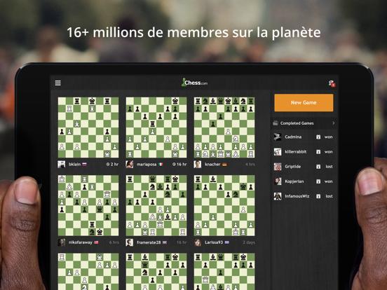 Screenshot #5 pour Échecs - Jouer et apprendre