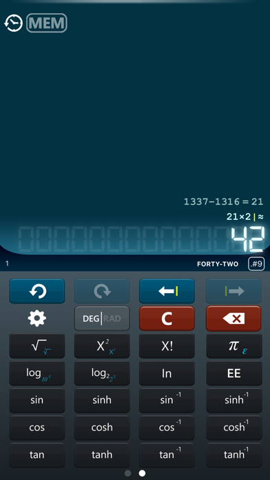 Calculator Hd review screenshots