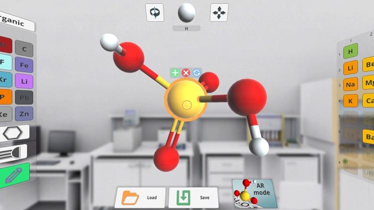 AR VR Molecules Editor Lite