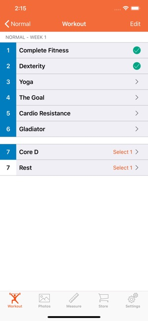 90 Day Workout Tracker 3 on the App Store