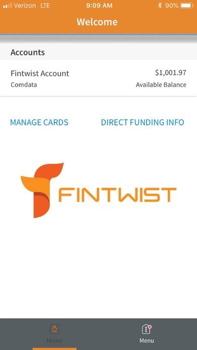 Fintwist - App - iOS me
