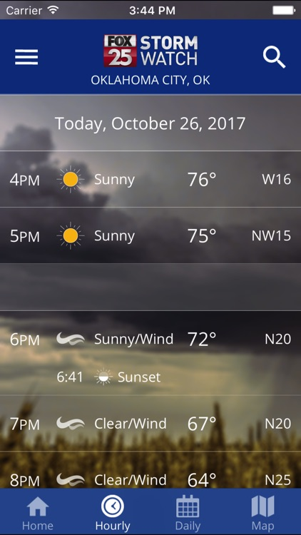 FOX 25 Stormwatch Weather screenshot-4