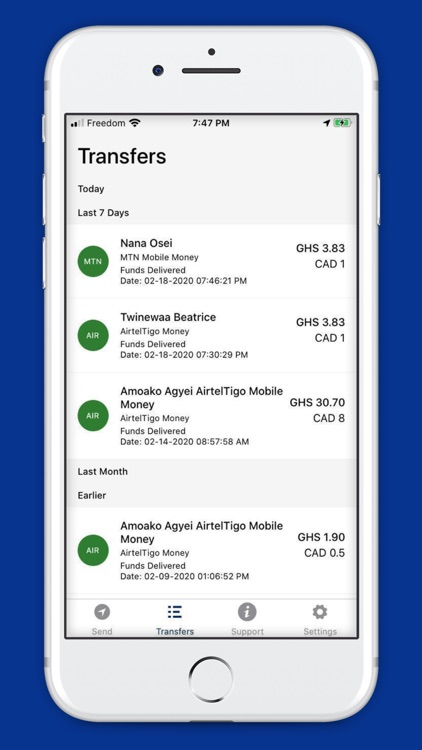 DirectSend-Send Money To Ghana screenshot-4