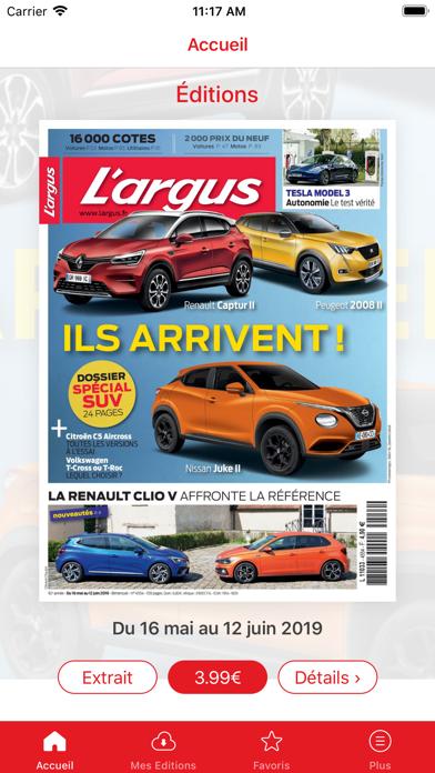 L'argus Mag Screenshot