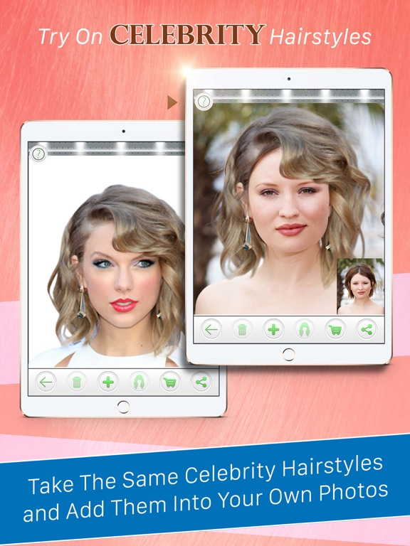 Magnificent Try On Celebrity Hairstyles App Price Drops Natural Hairstyles Runnerswayorg