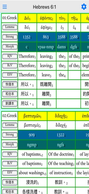NT Reversible Interlinear on the App Store