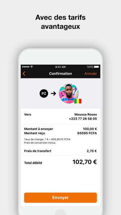 Orange Money France screenshot three