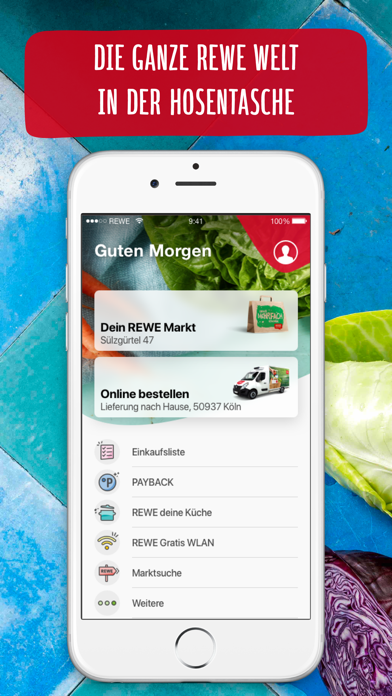 Screenshot for REWE Angebote & Lieferservice in Germany App Store