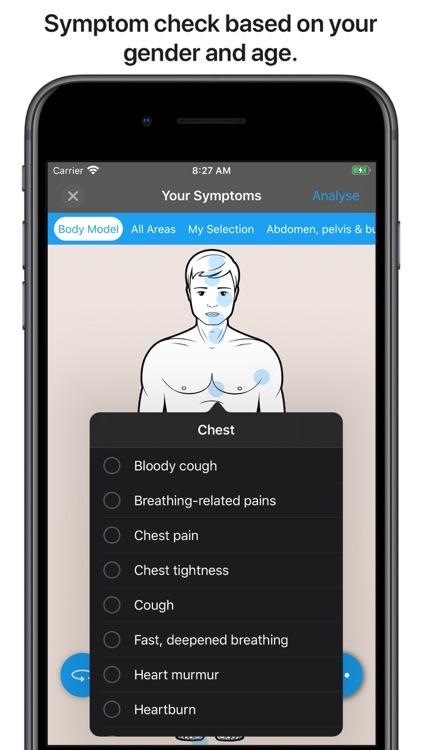 Dockti - Med. Symptom Check screenshot-5