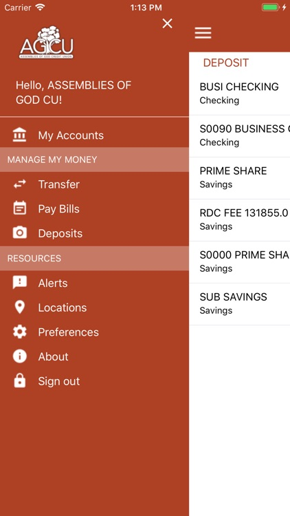 AGCU Mobile Banking screenshot-2