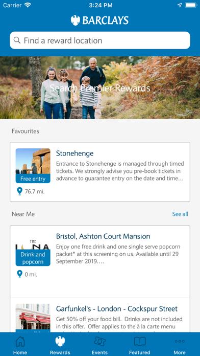 Barclays Premier Rewards screenshot two