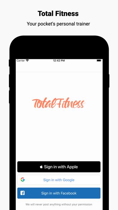 Total Fitness - Home & Gymのおすすめ画像1