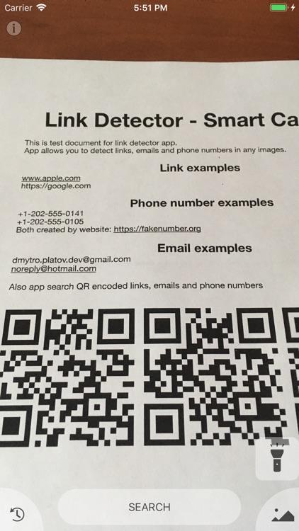 Link Detector - Smart Scanner
