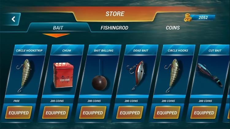 Fishing Deep Sea Simulator 3D screenshot-4