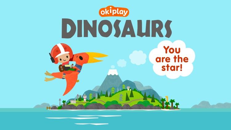 Dino Puzzle Kids Dinosaur Game screenshot-0