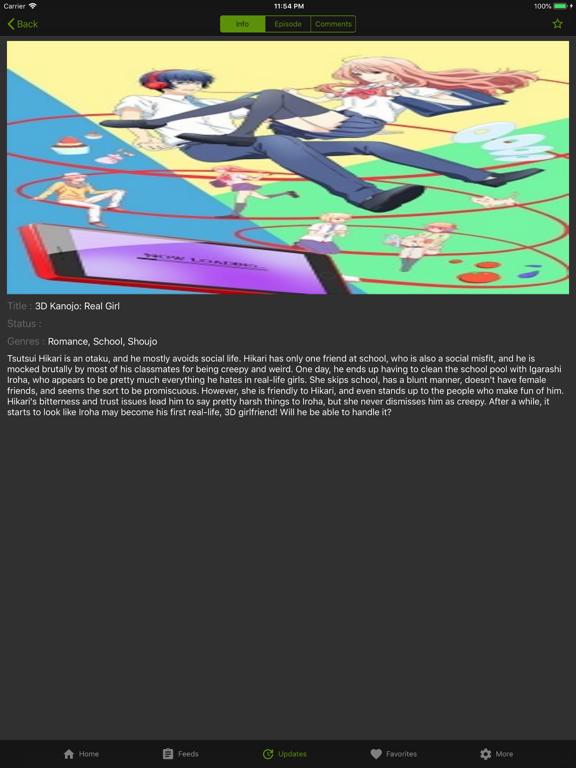 iPad Image of KissAnime - Social HD Anime