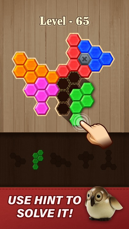 Block Hexa Puzzle: Wooden Game screenshot-3