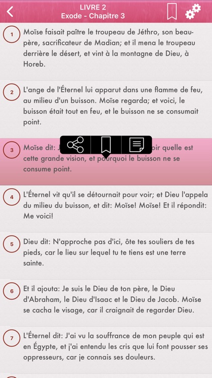 La Sainte Bible en Français screenshot-3