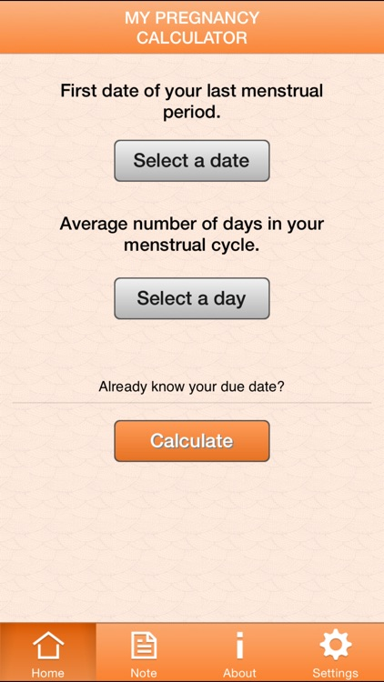 My Pregnancy Calculator