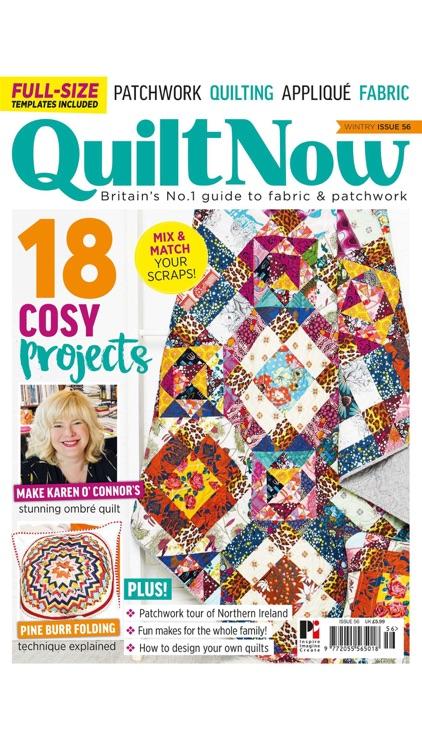 Quilt Now Magazine screenshot-6