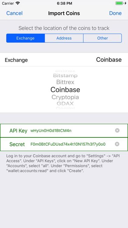Coinstream - Crypto Portfolio screenshot-4