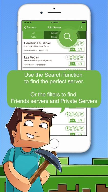 Multiplayer for Minecraft PE screenshot-4