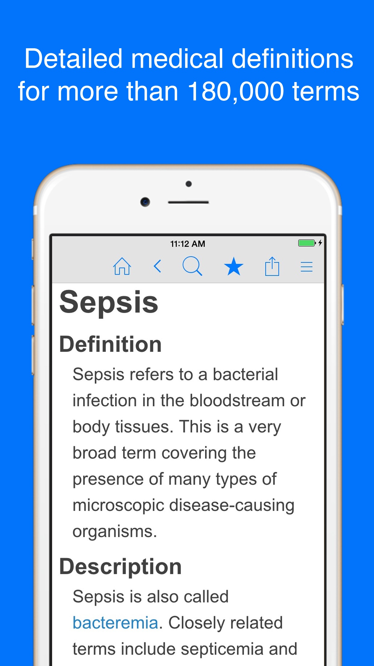 Medical Dictionary by Farlex Screenshot