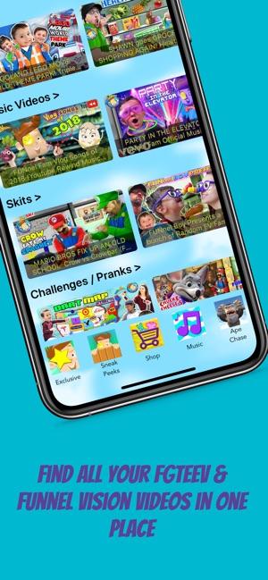 Fgteev Funnel Vision Tv On The App Store
