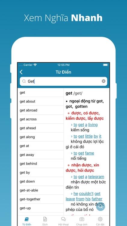 Từ Điển Anh Việt, Việt Anh screenshot-4