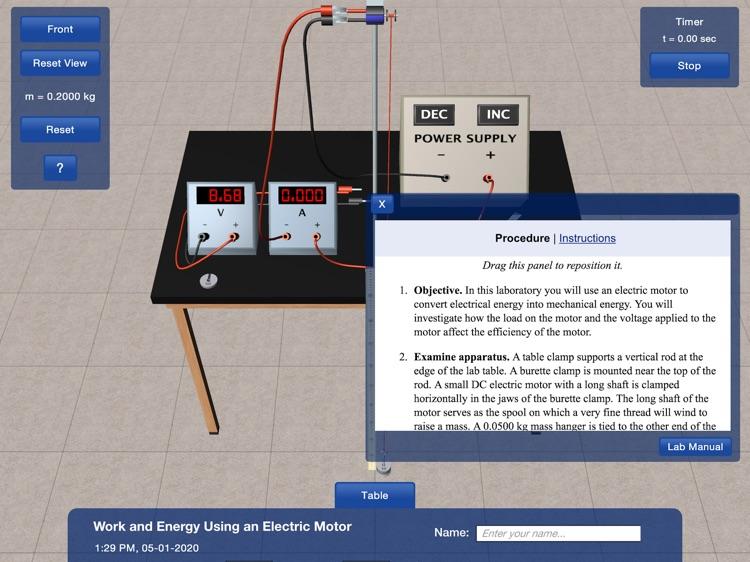 PP+ Work & Energy Motor screenshot-3
