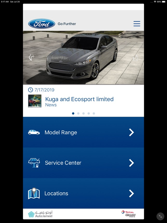 Ford Egypt - Go Further on the App Store