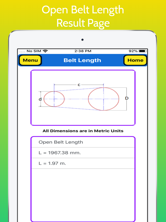 Belt Length Calculator screenshot 13