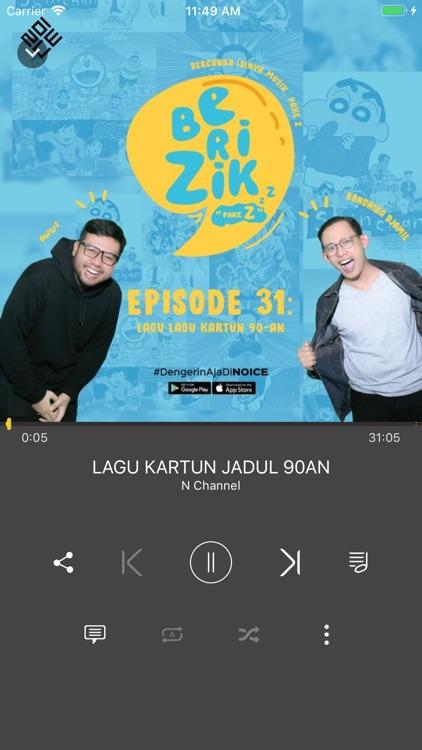 NOICE Radio Music App screenshot-3
