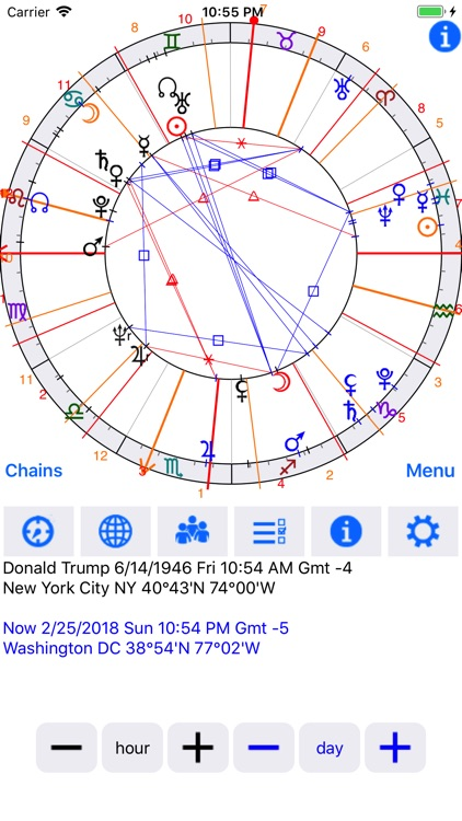 Astrological Charts Lite screenshot-3