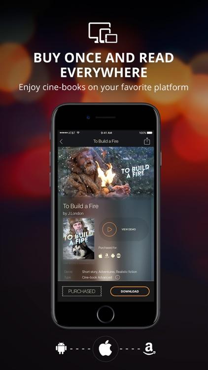 CINE-BOOKS: Read-Listen-Watch screenshot-5
