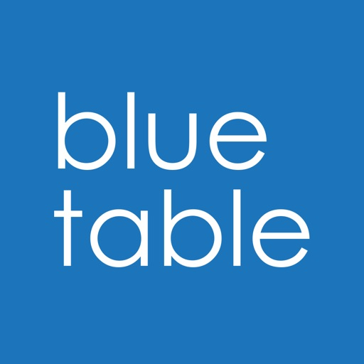 Blue Table