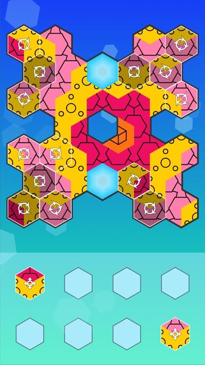 Aurora Hex - Pattern Puzzles screenshot-3