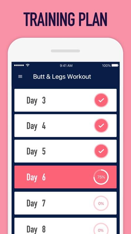 Female Fitness - Butt Workout screenshot-4