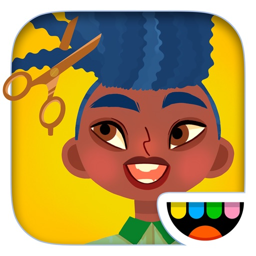 Toca Hair Salon 4 free software for iPhone and iPad