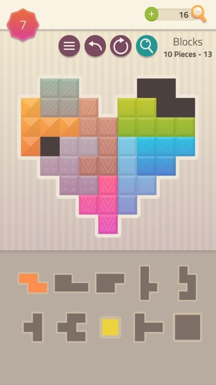 Polygrams - Tangram Puzzles screenshot-3