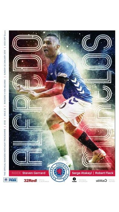Rangers FC Digital Programme screenshot 10