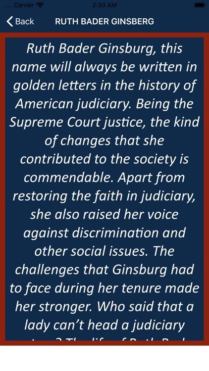 Ruth Bader Ginsburg Wisdom screenshot-3