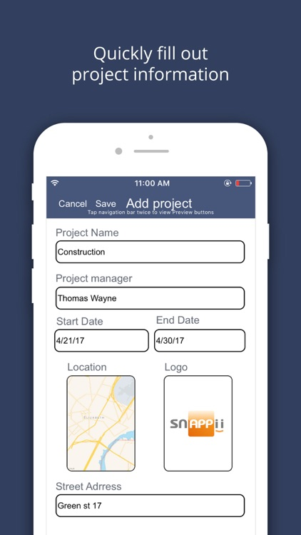 Punch List and Issue Tracker