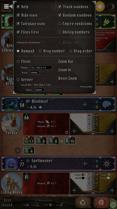 Gloomhaven Helper screenshot1