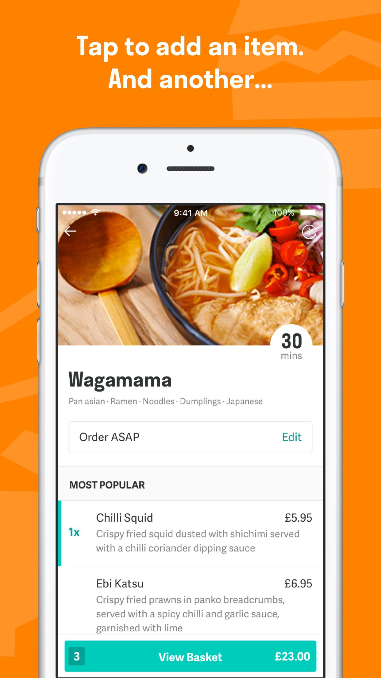 Deliveroo: Food delivery Screenshot