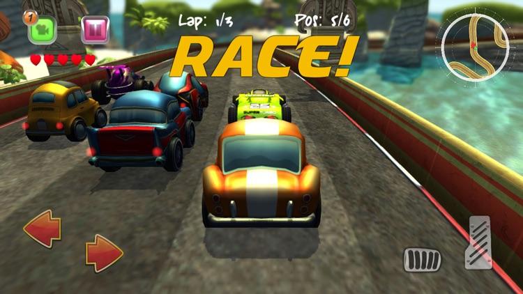 Cartoon Super Racer screenshot-4