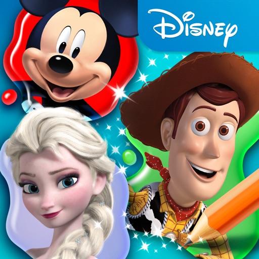 Disney Coloring World app logo