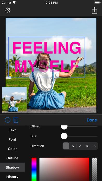 Overlay Text - 3D Text Overlay screenshot 9